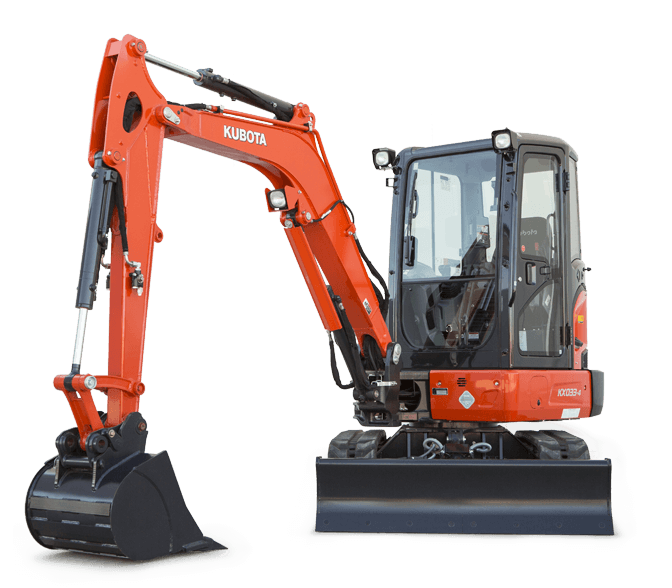 KUBOTA EXCAVATORS - NEW PURCHASE SPECIAL OFFERS